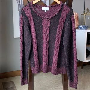 Kendall & Kylie cable knit sweater, Size  L